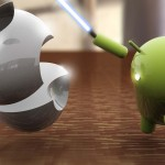 Android cuts Apple